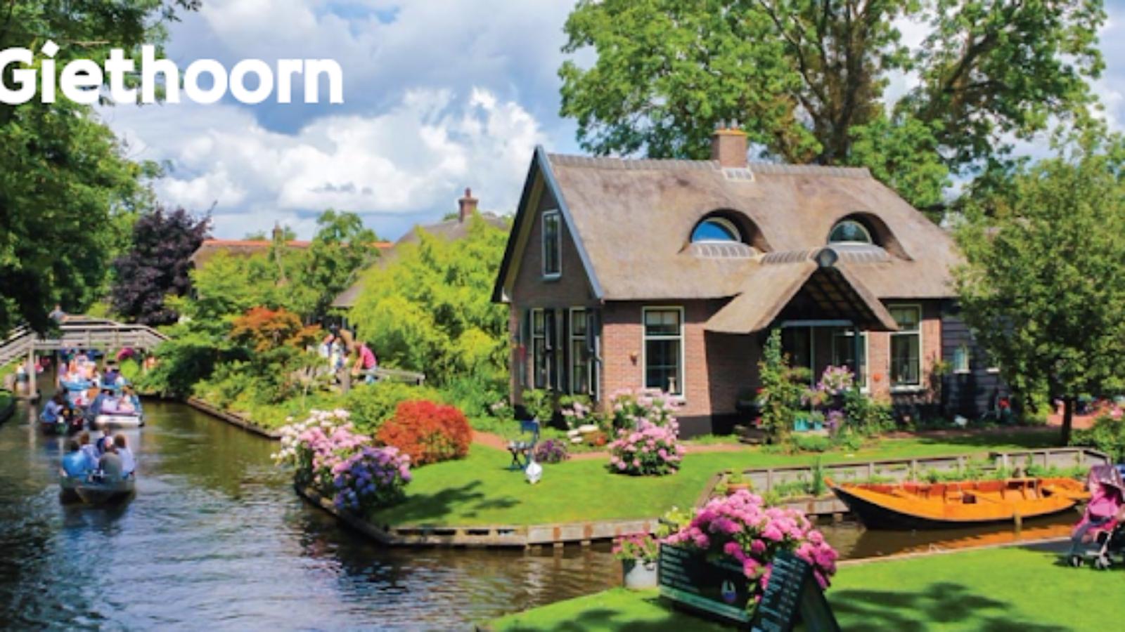 Giethoorn, il villaggio senza strade