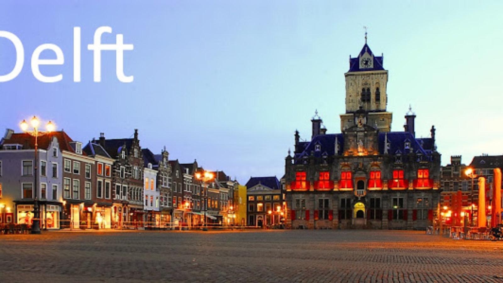 Delft, tra canali e ceramiche blu
