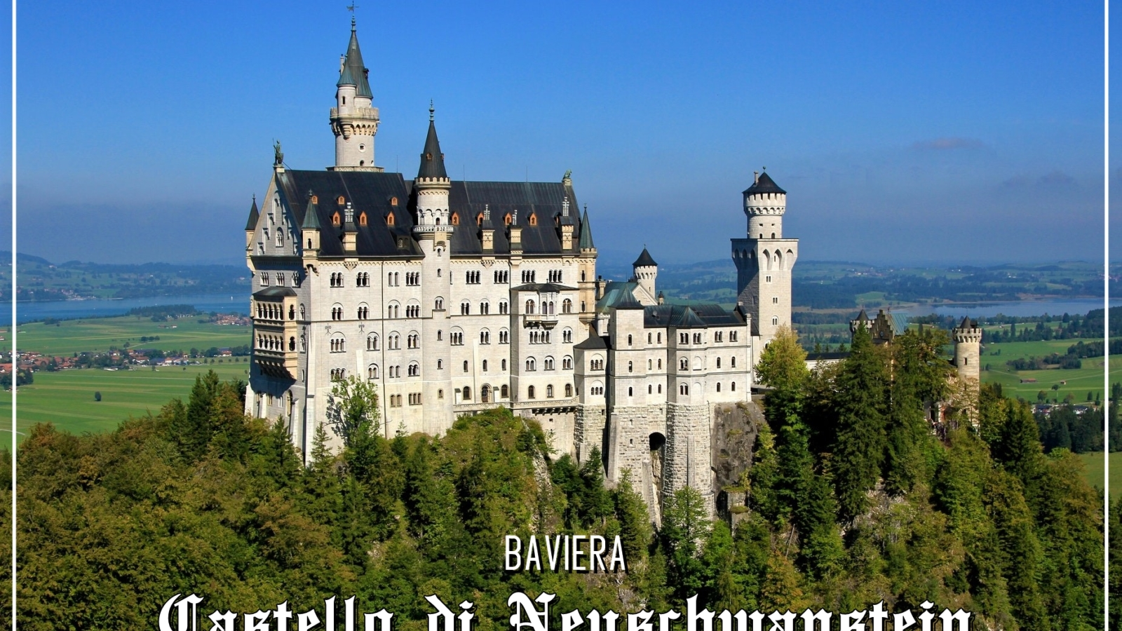 Neuschwanstein: il castello delle fiabe!