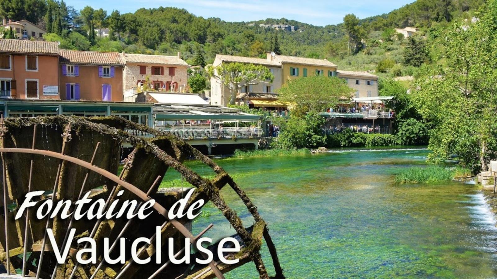 Fontaine de Vaucluse, e la misteriosa sorgente!