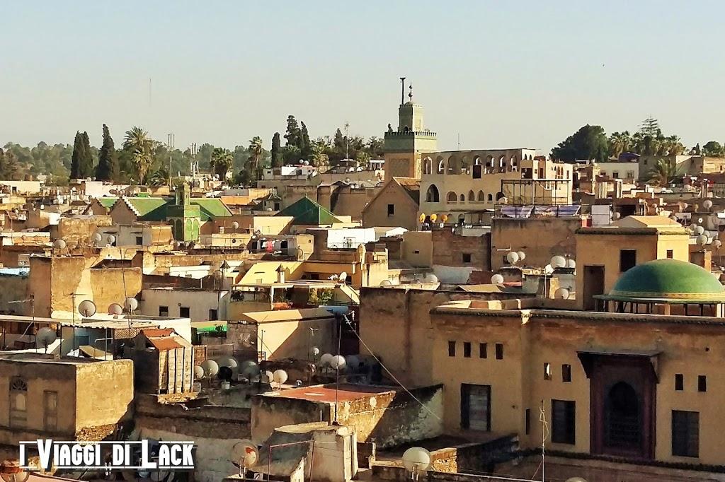 Vista sul centro della medina
