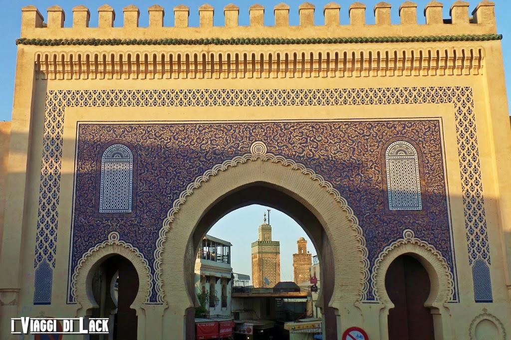 Bab Boujloud - La Porta Blu - Uno degli ingressi alla Medina