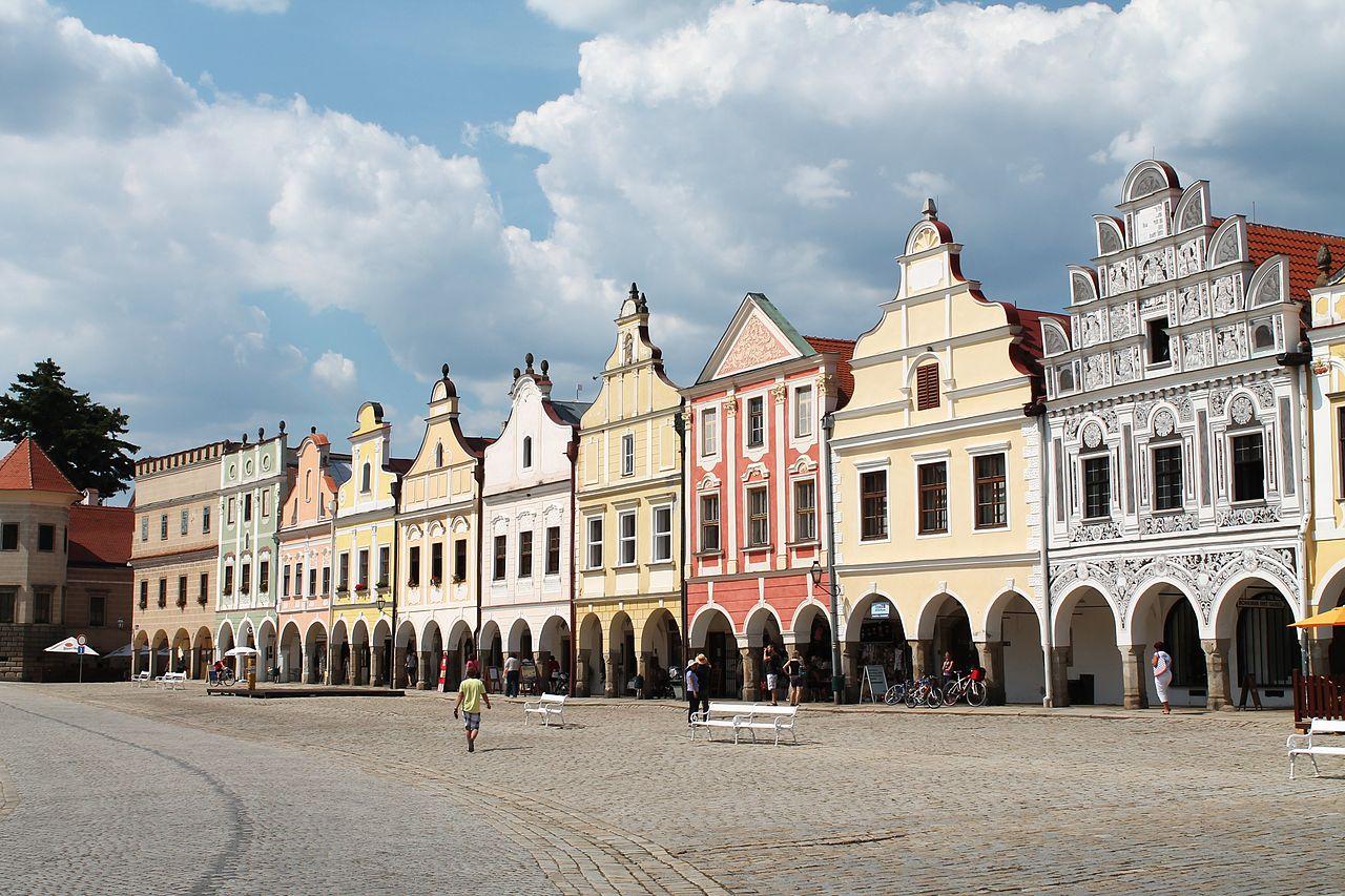 Piazza di Telč