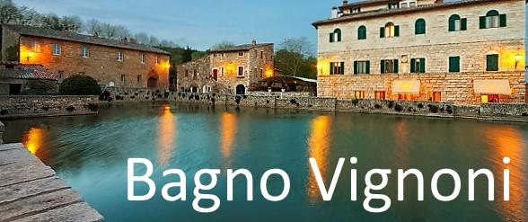 Bagno Vignoni, le terme in piazza !