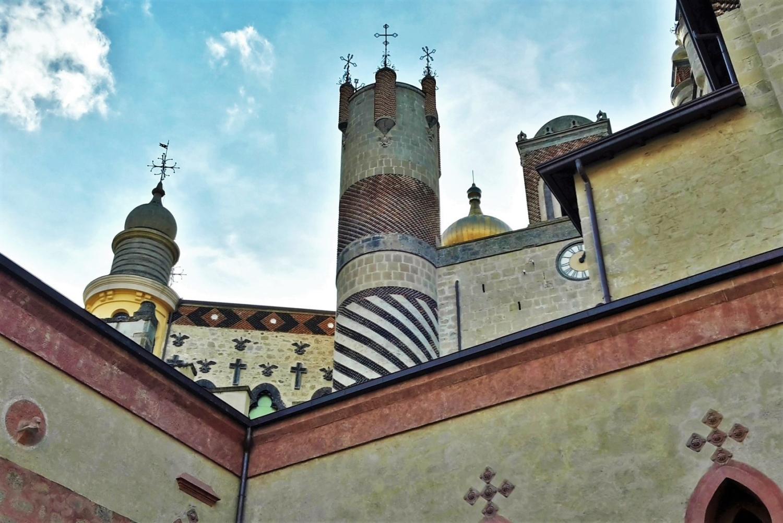 All'interno del castello