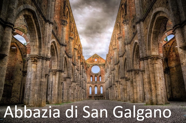 Abbazia di San Galgano, la spada nella roccia è quì!