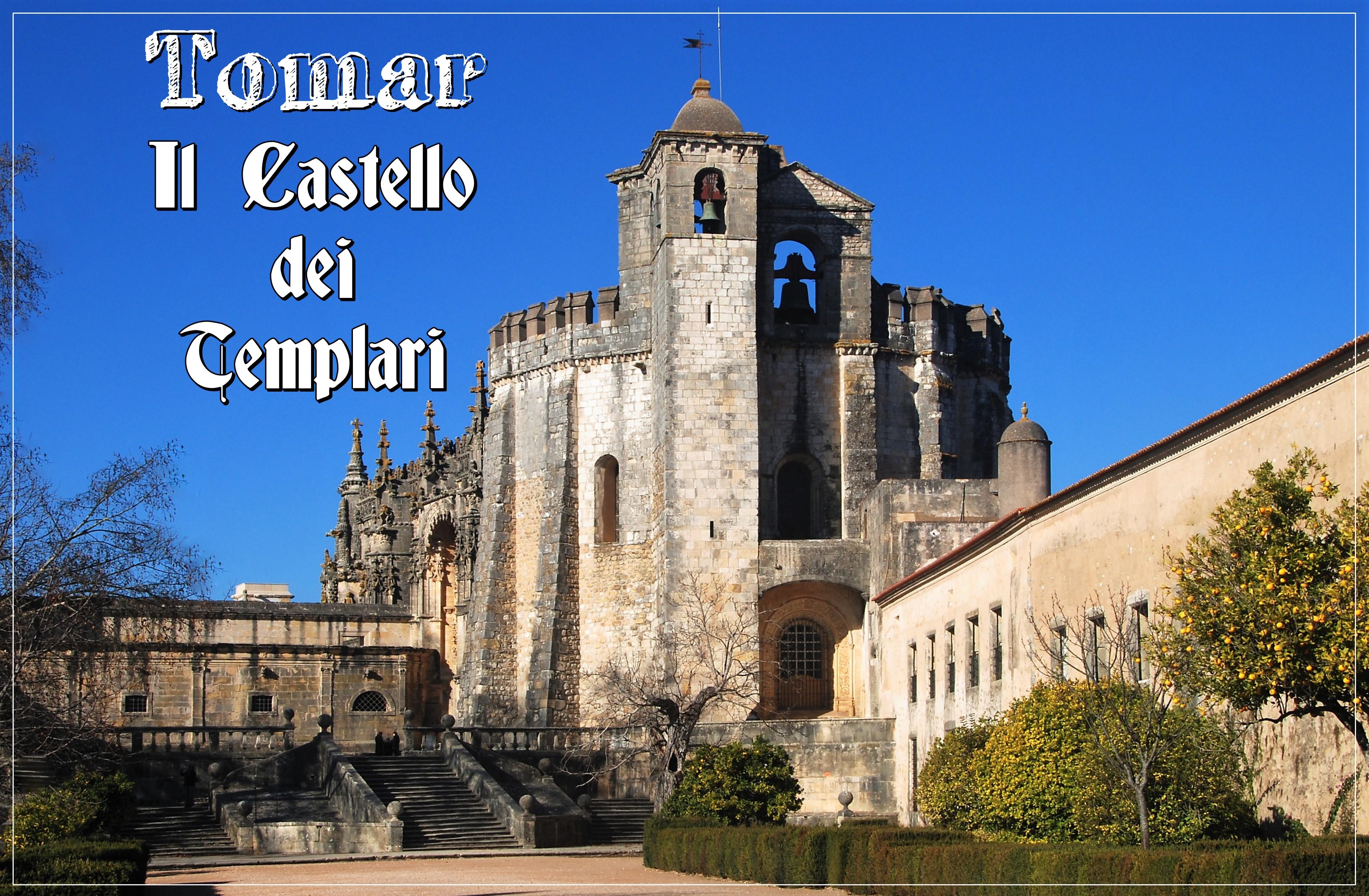 Tomar, Portogallo. La fortezza dei Templari
