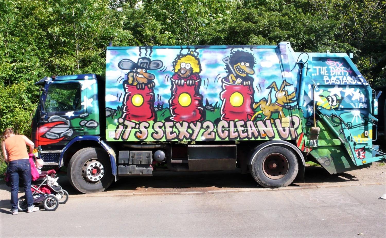 Camion rifiuti urbani
