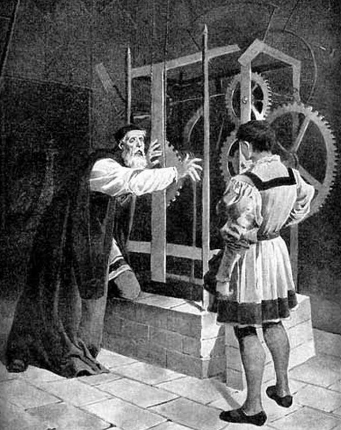 Hanus accecato si getta tra gli ingranaggi