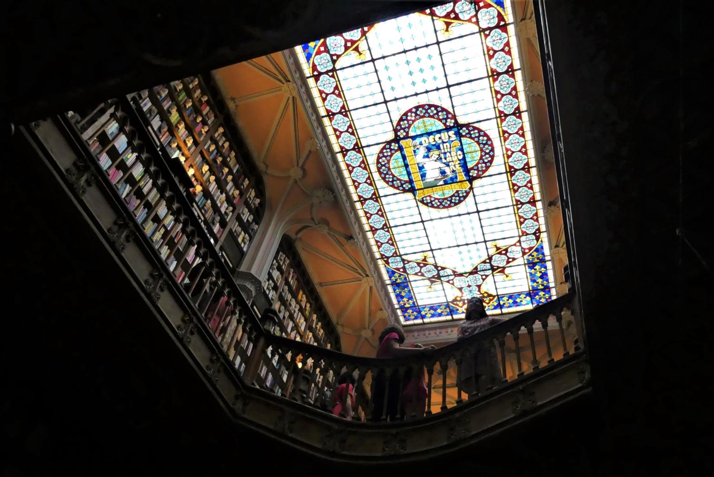 vetrata del soffitto