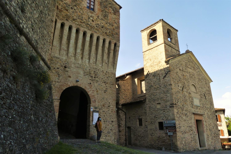 Ingresso del castello
