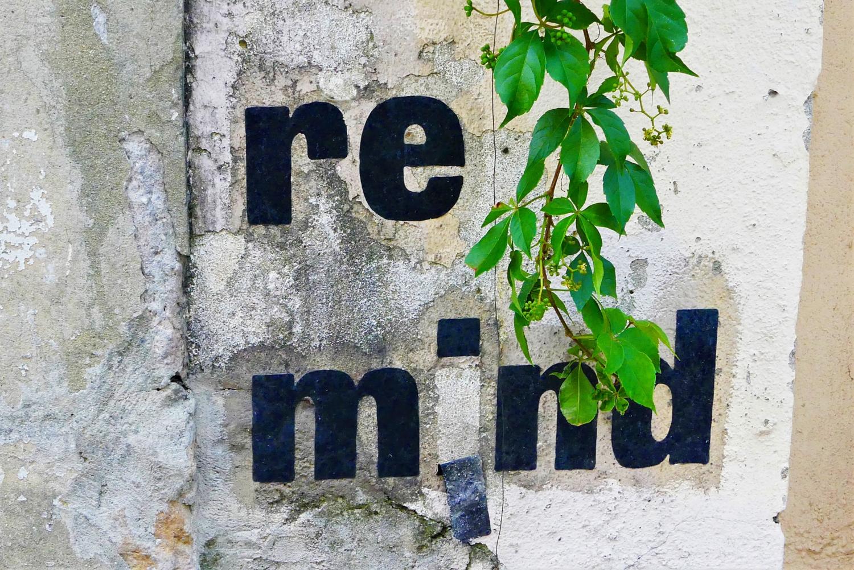 re mind !