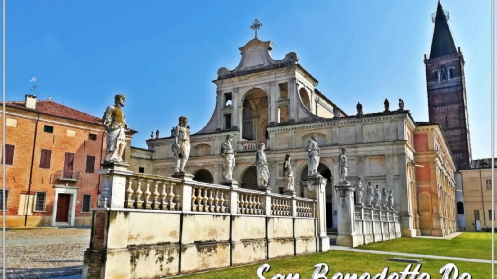 San Benedetto Po, dove il grande fiume incontra il monastero