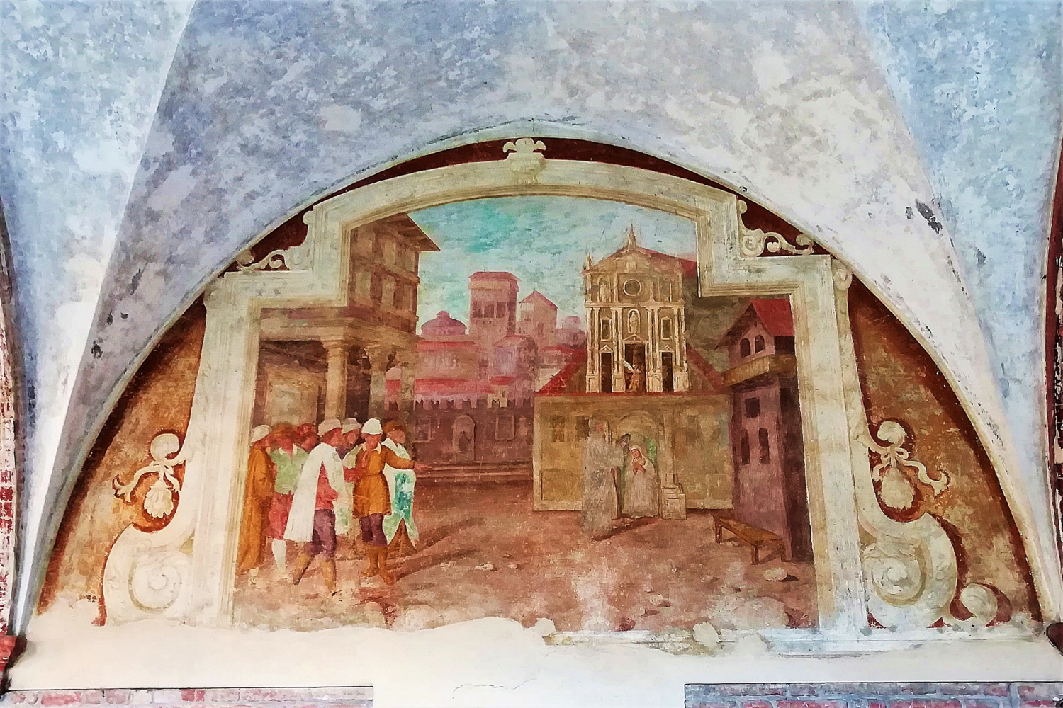 Affresco San Simeone